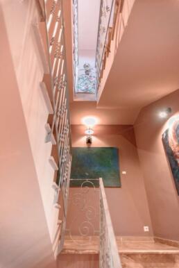 Fileas Art Hotel stairwell