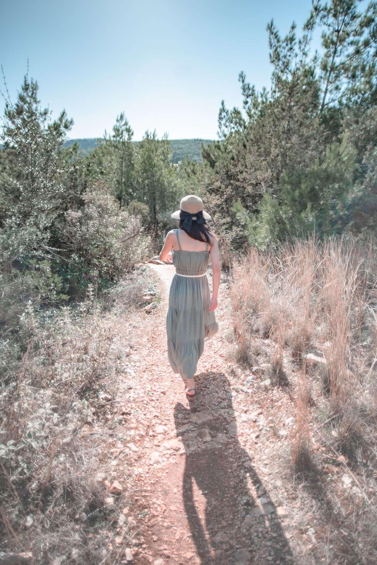 Fiskardo hiking path