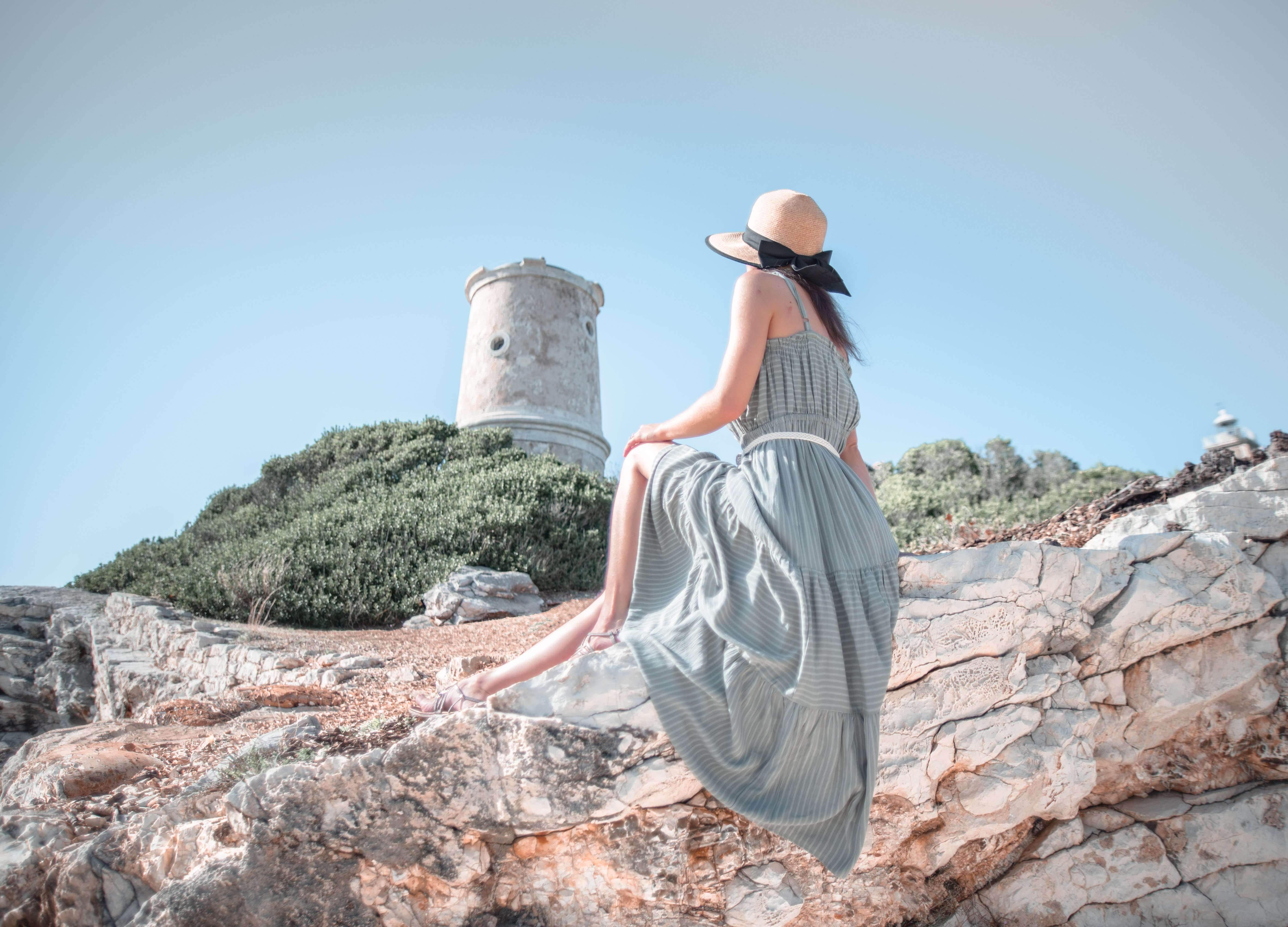 Venetian lighthouse on Fiskardo, Kefalonia