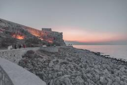 Fortezza in Rethymno at sunset