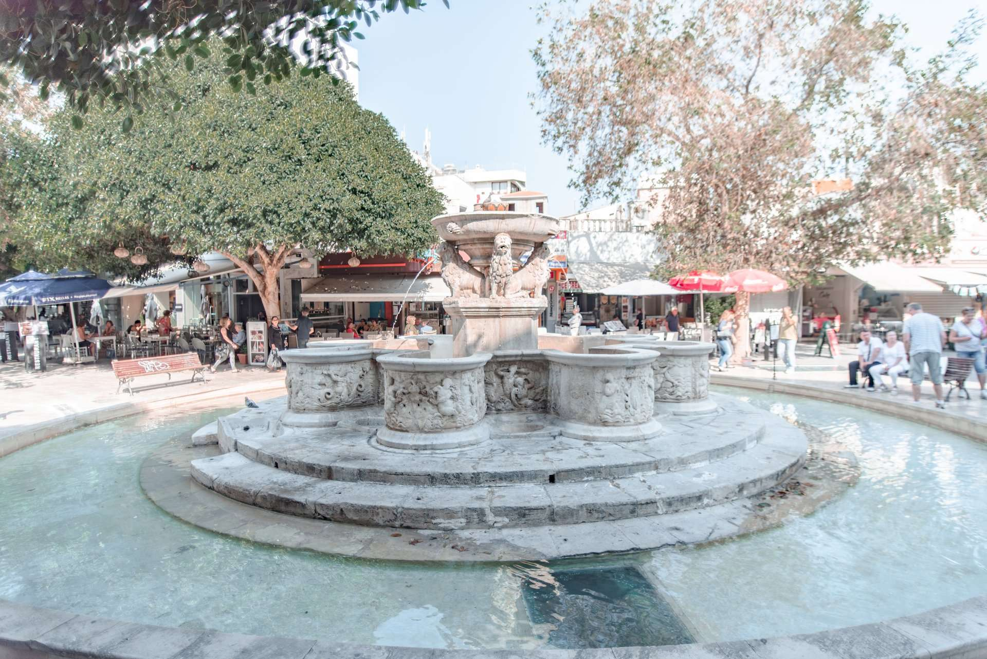 Morosini Lions Fountain, Heraklion