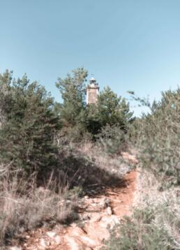 New Lighthouse on Fiskardo, Kefalonia