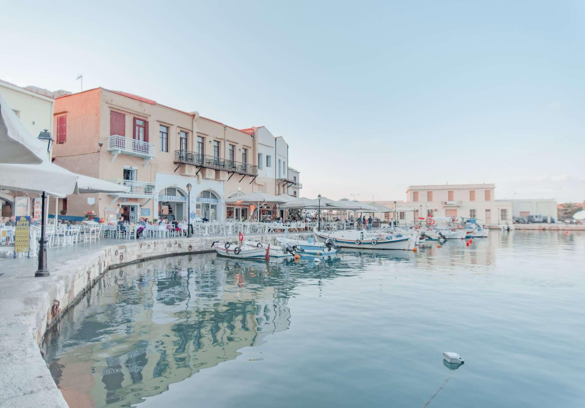 Venetian Harbor, Rethymno, Crete