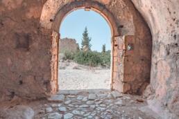Assos Castle archway