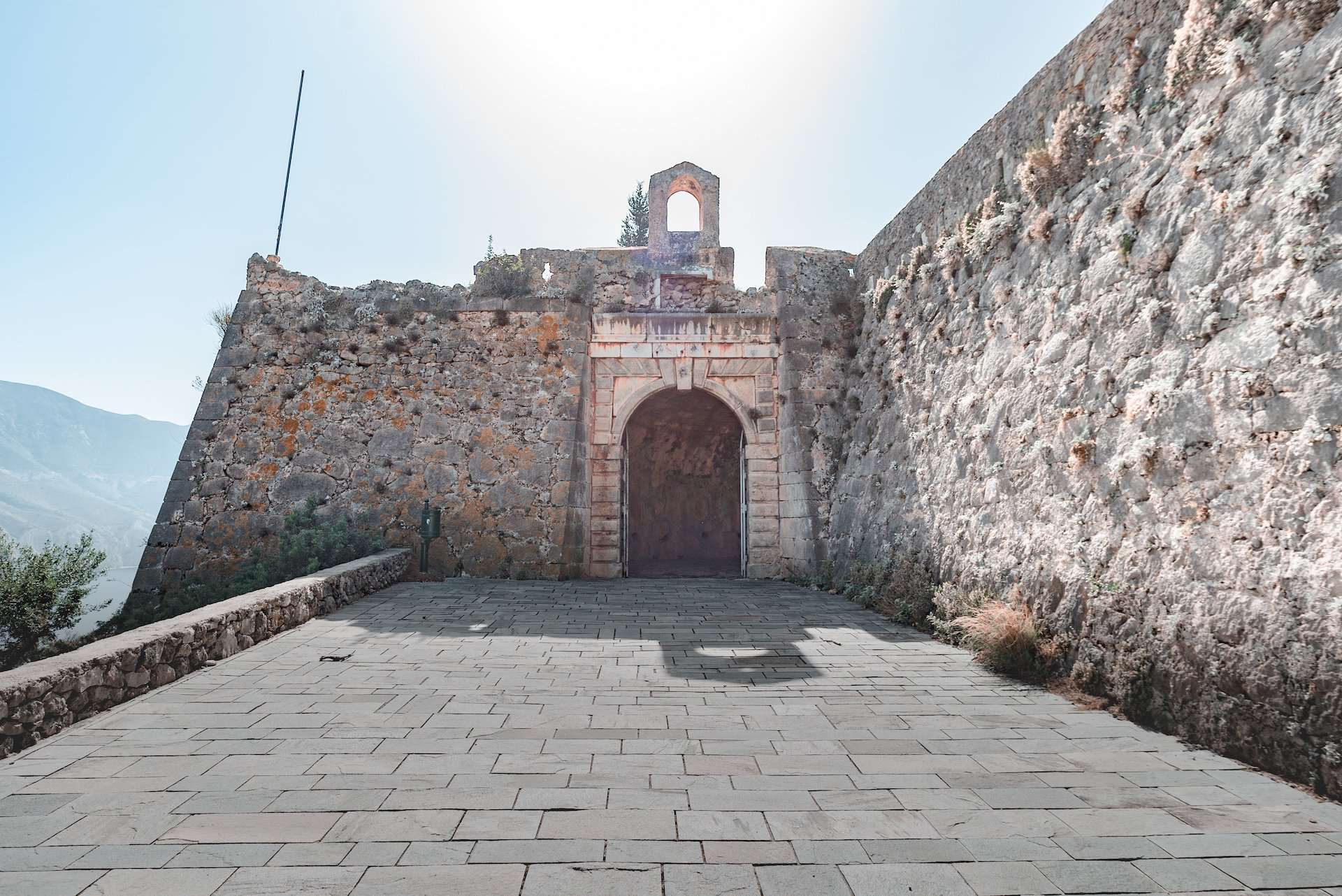 Assos Castle entrance, Kefalonia