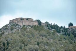 Assos Castle, Kefalonia from below