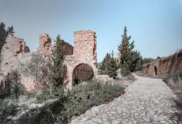 Assos Castle ruins