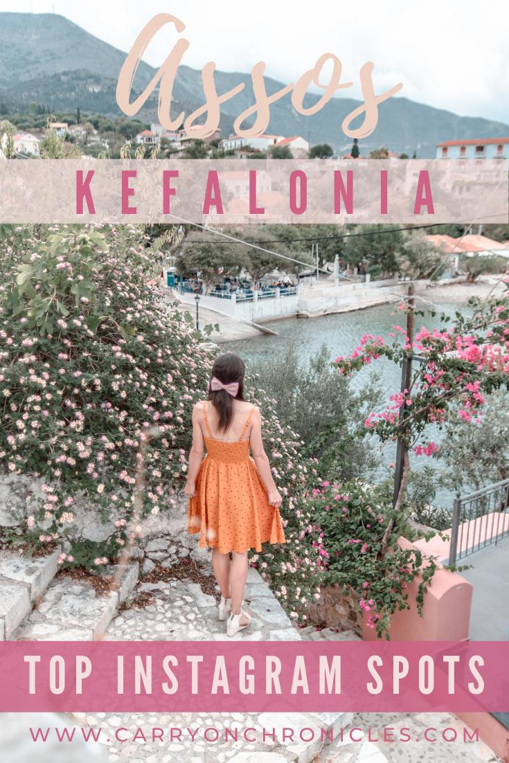Assos Village in Kefalonia, Greece