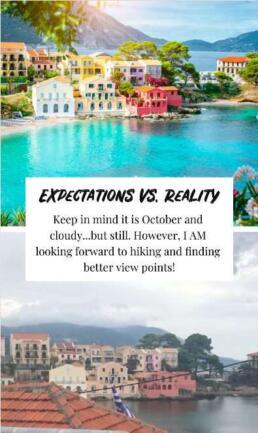 Assos, Kefalonia: Expectations vs. reality