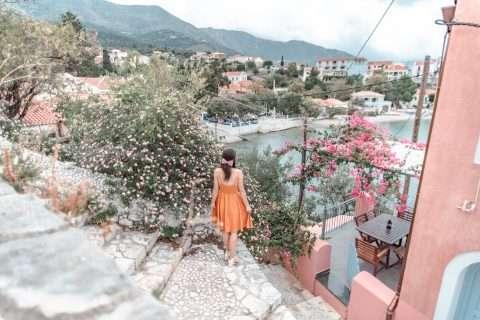 Top Instagram Spots in Assos Village, Kefalonia
