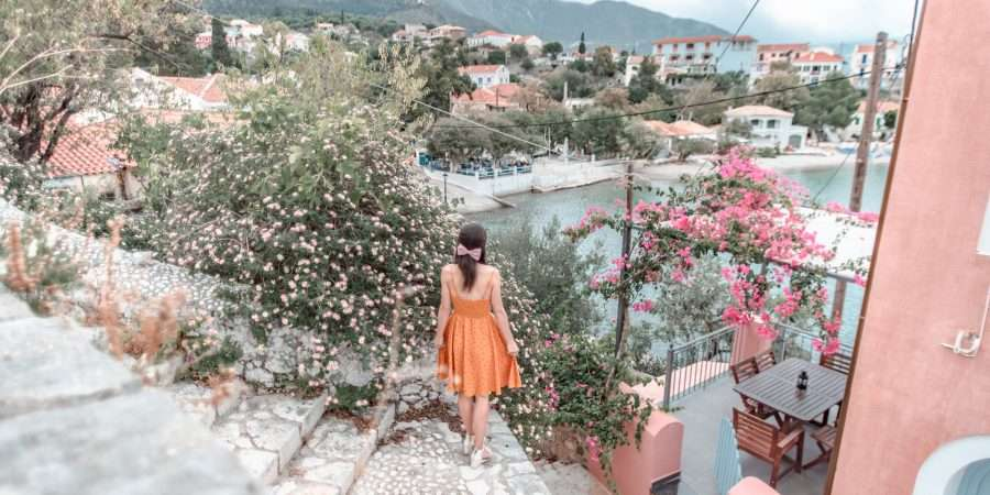 Top Instagram Spots in Assos Village, Kefalonia
