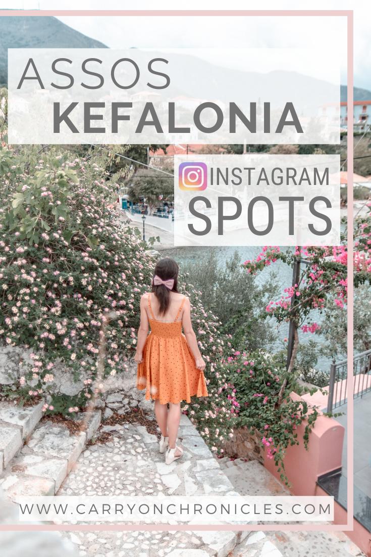 Assos Kefalonia Instagram Spots