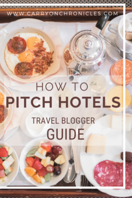 How to Pitch Hotels: Travel Blogger Guide