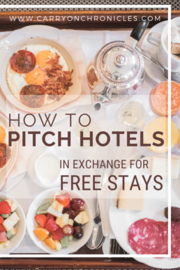 How to pitch hotels in exchange for free stays