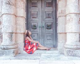 Beautiful doors at Vizcaya Museum and Gardens