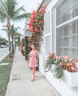 Major Alley in Palm Beach, Florida