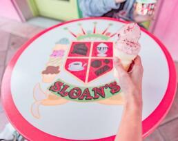 Sloan's Ice Cream in West Palm Beach, Florida