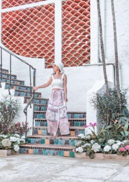 Via Mizner steps on Palm Beach Island