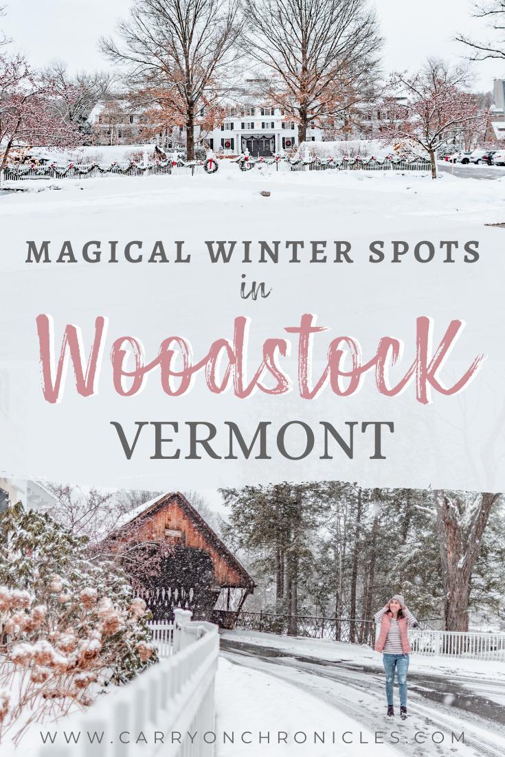 Magical winter spots in Woodstock