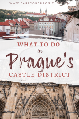 What to Do in the Prague Castle District