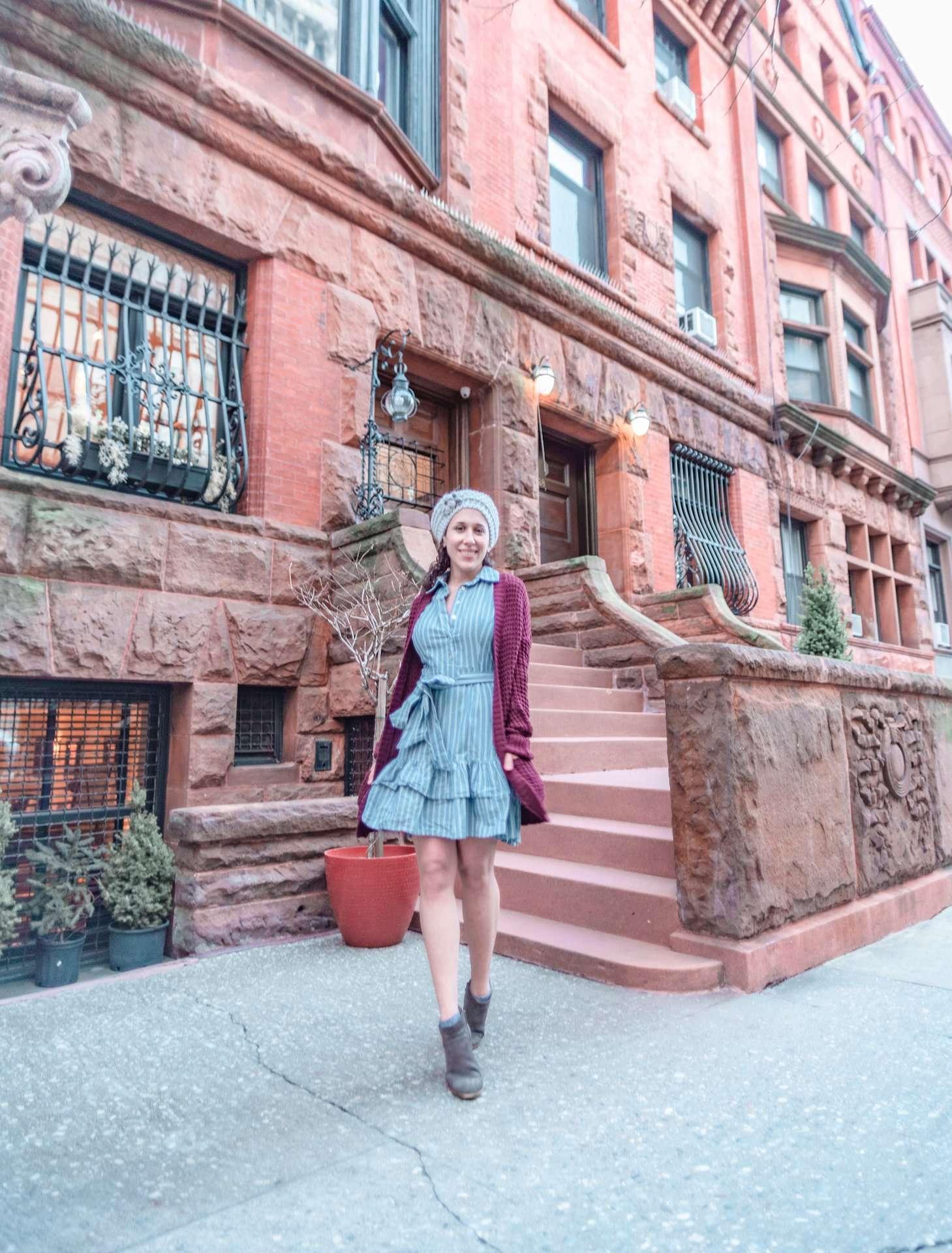 Brownstones on West 71st Street