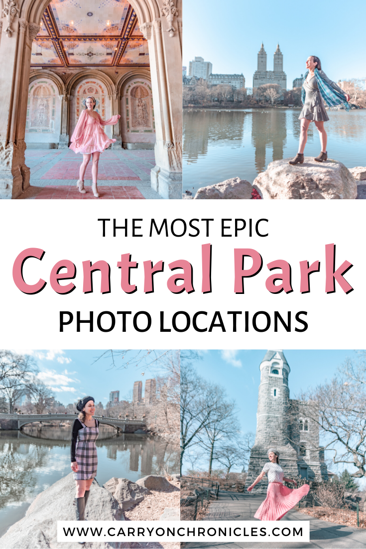 The most epic Central Park photo locations