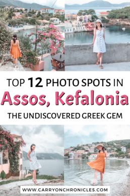 Best photo spots in Assos, Kefalonia