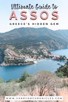 Assos, Kefalonia in Greece