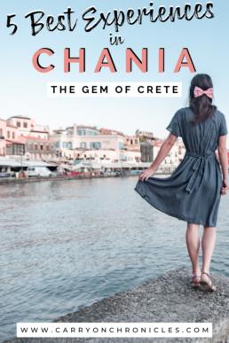 Venetian harbor in Chania, Crete