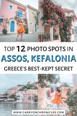 Most beautiful photo spots in Assos, Kefalonia