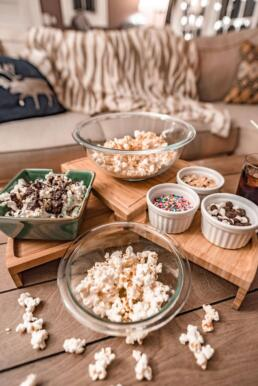 flavored popcorn for movie night