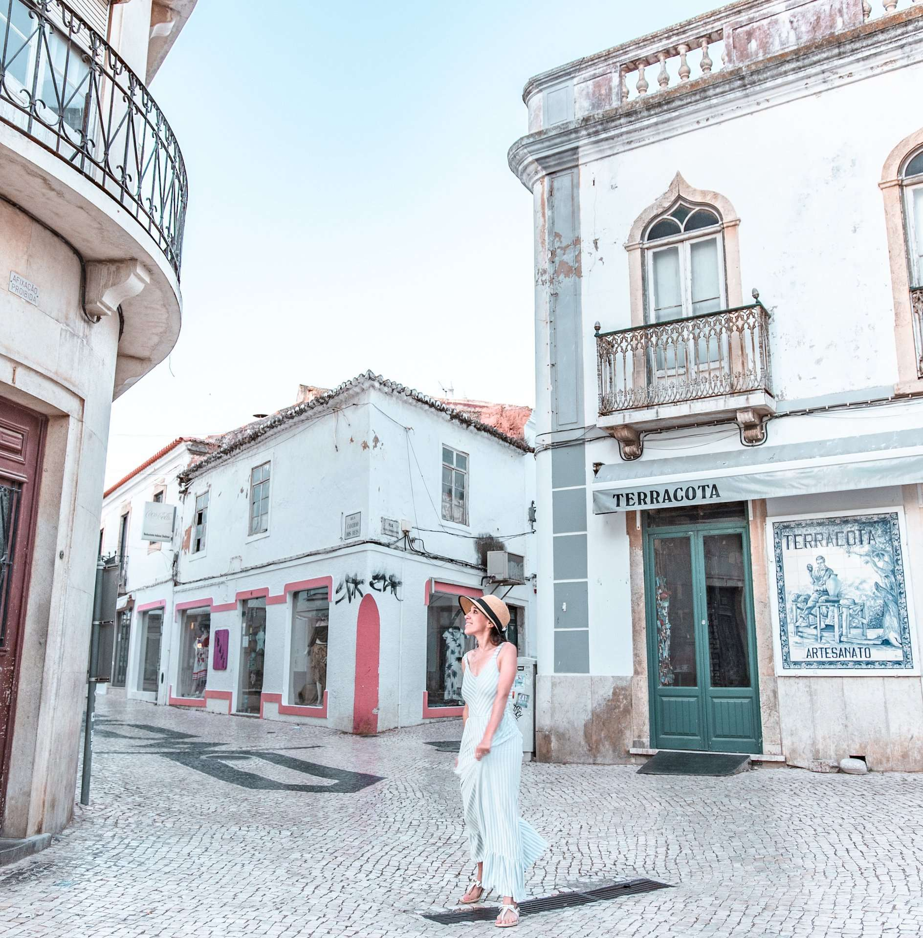 Exploring Old City in Lagos, Portugal