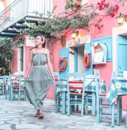 charming restaurant in Assos, Kefalonia