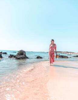 Elafonisi Beach in Chania, Crete