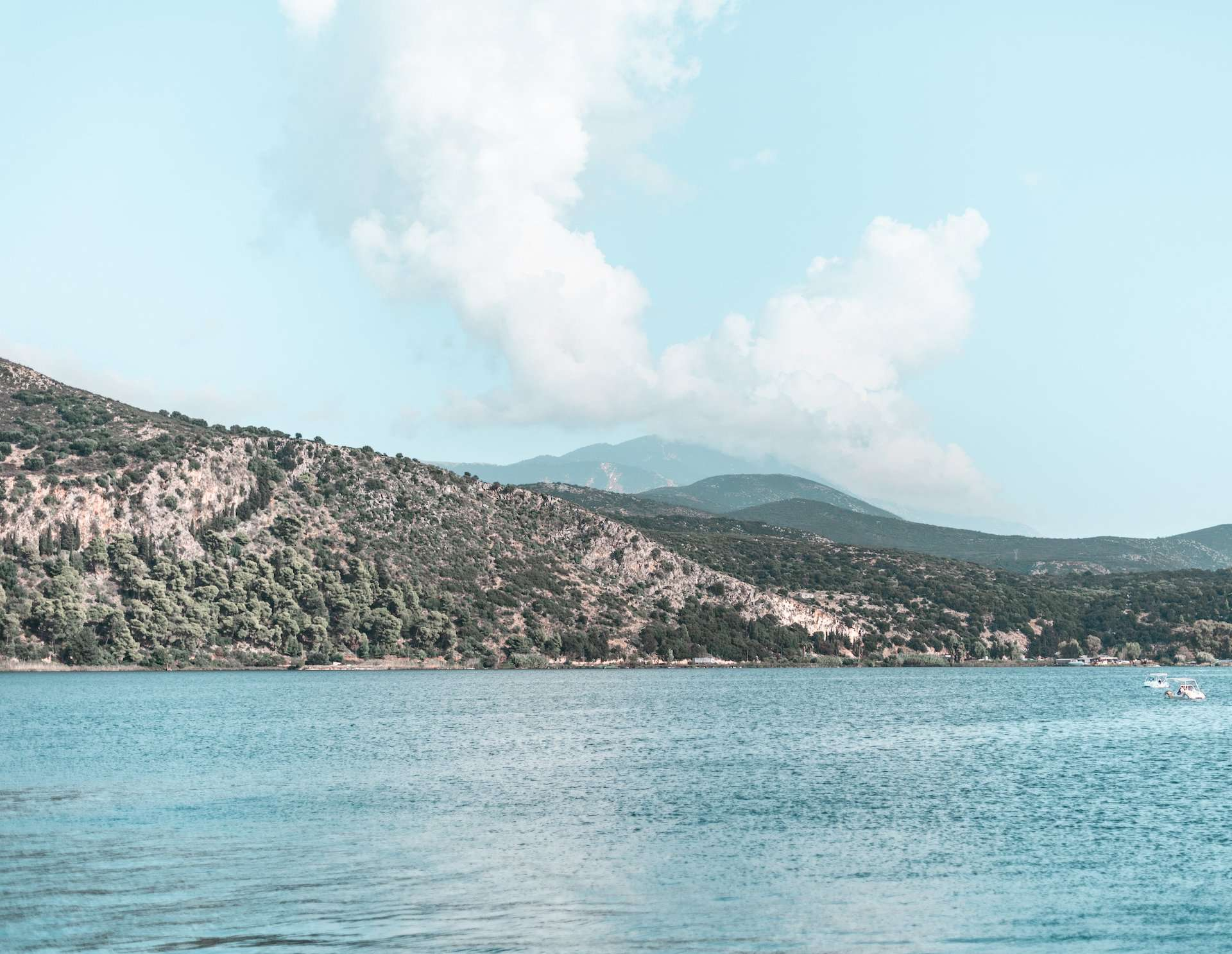 water view in Kefalonia