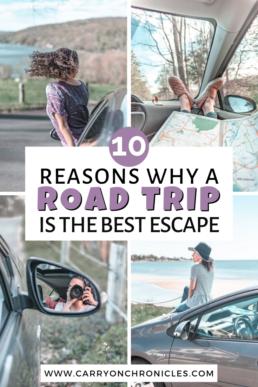 reasons to take a road trip