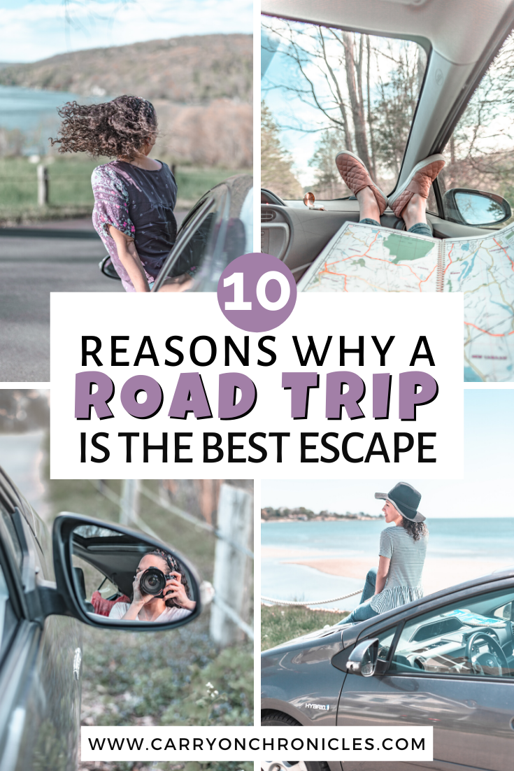 reasons to take a road trip