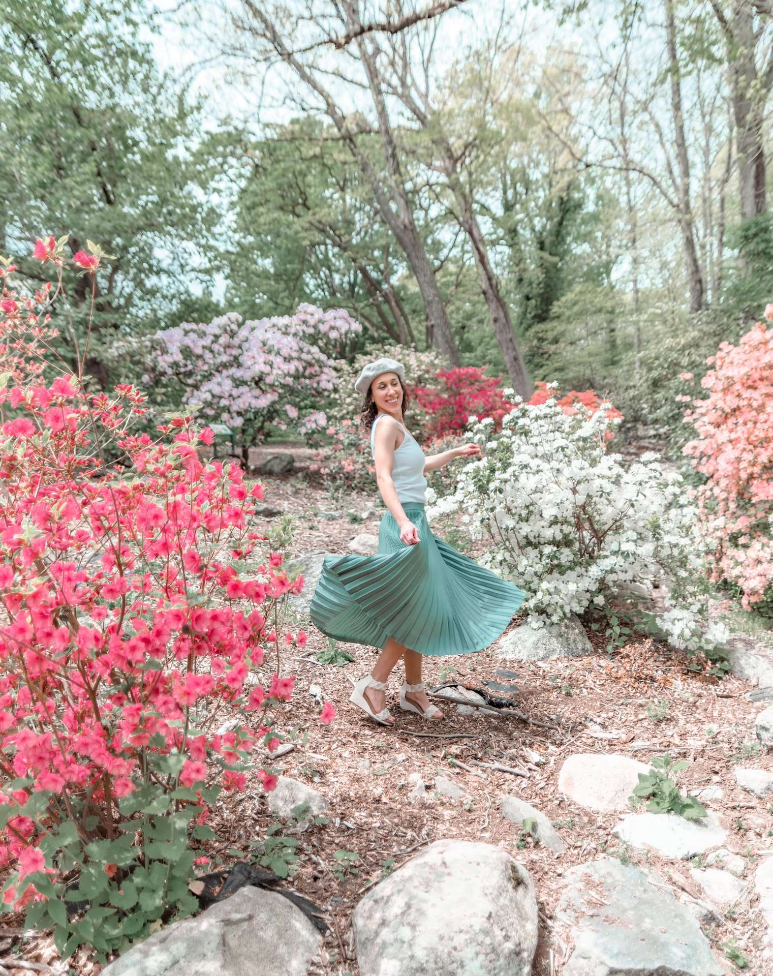 Dancing at Stamford Arboretum