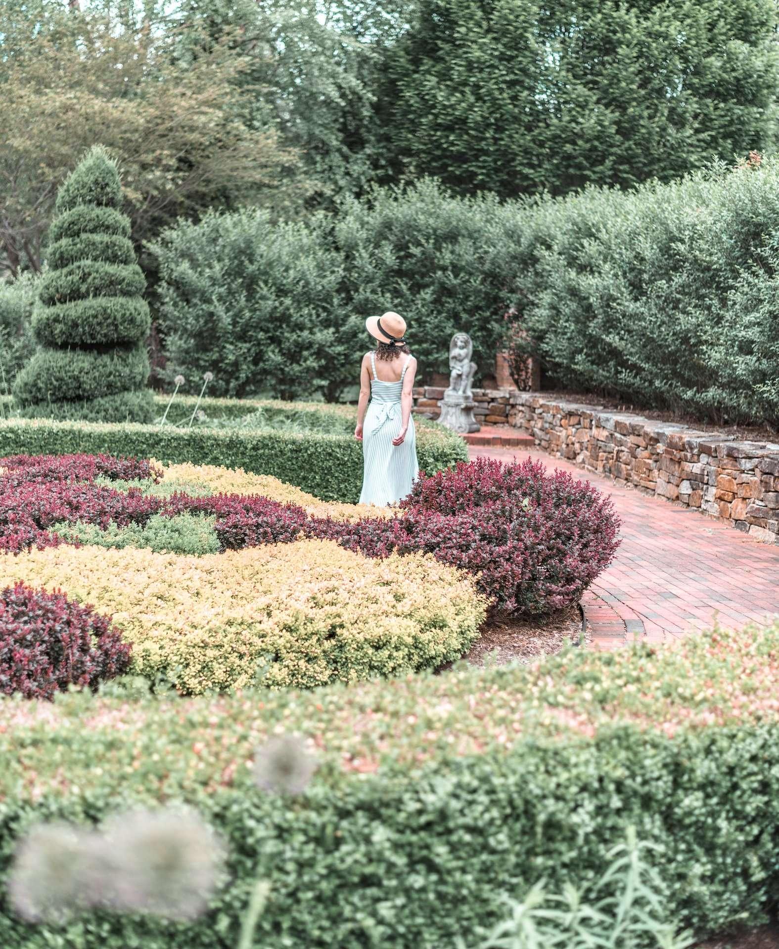 English Garden at Wickham Park