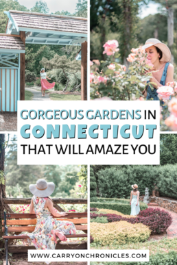 Gorgeous gardens in Connecticut