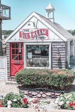 The Ice Cream Store in Rockport, Massachusetts