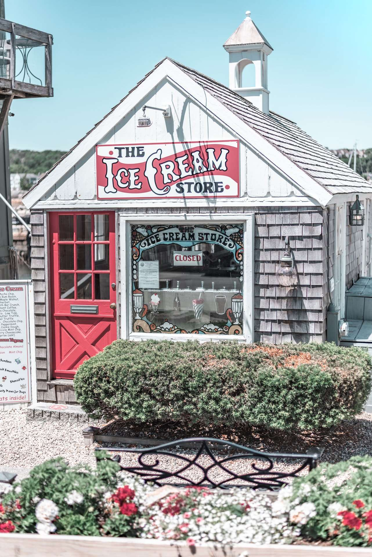 The Ice Cream Store in Rockport, Massachusetts