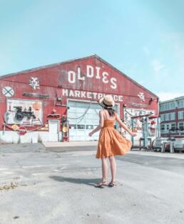 Oldies Marketplace in Newburyport