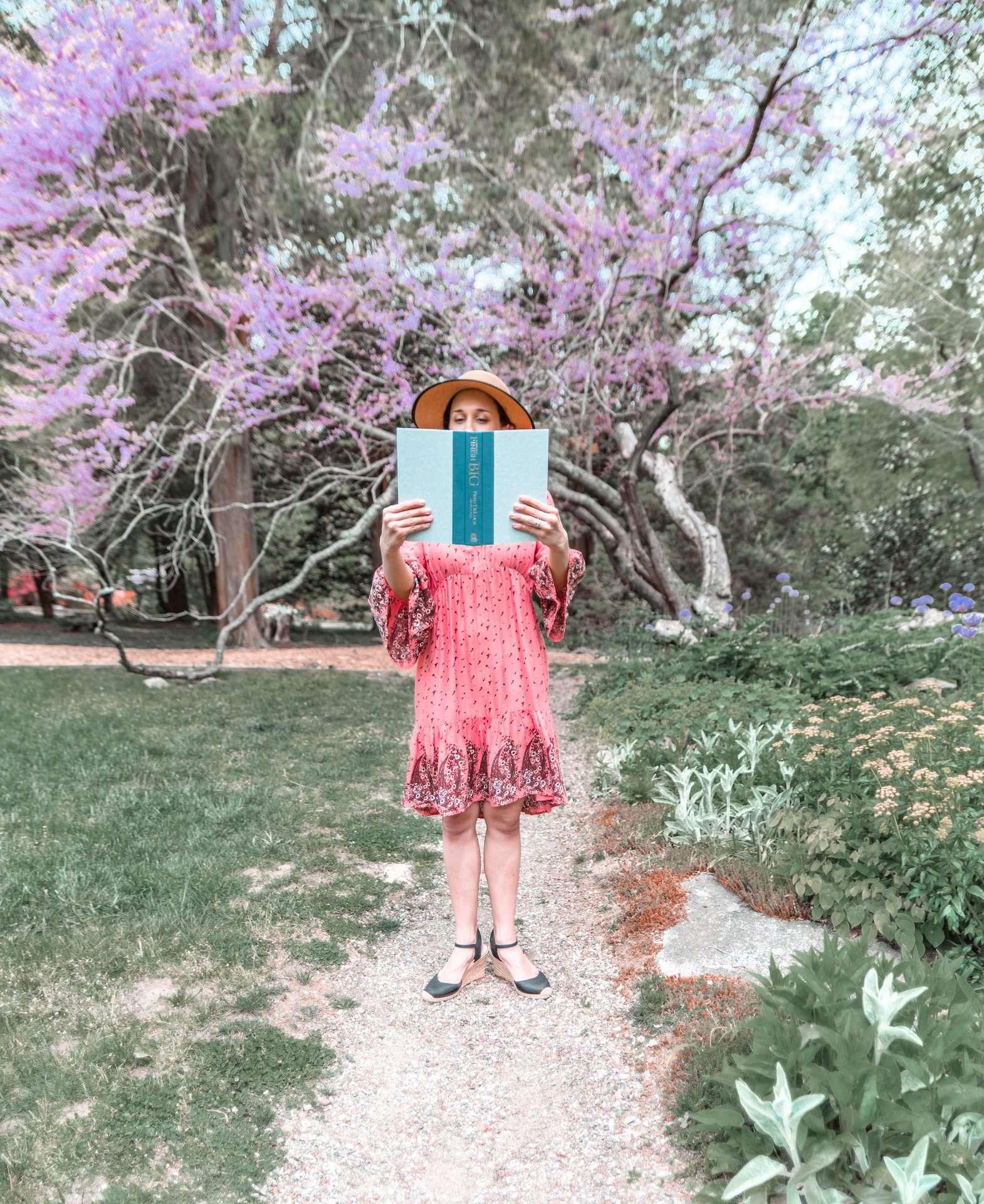 Reading at Stamford Arboretum