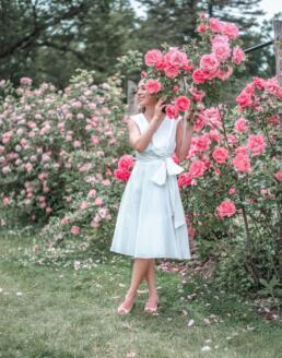 Roses at Elizabeth Park in Hartford