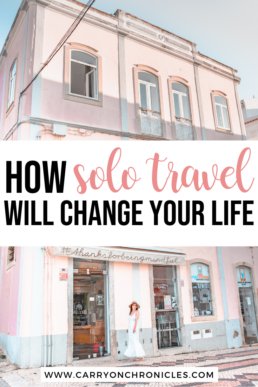 first solo travel experience