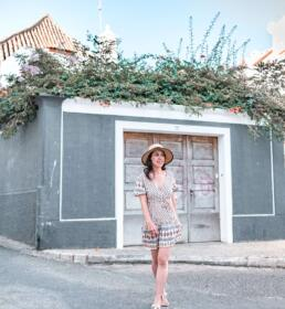 taking tripod photography in Lagos, Portugal