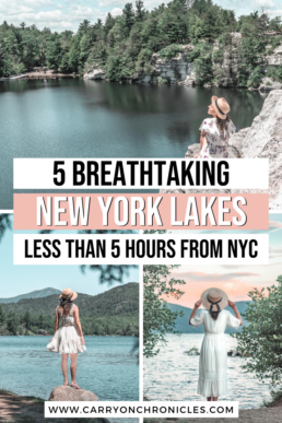 best lakes in New York