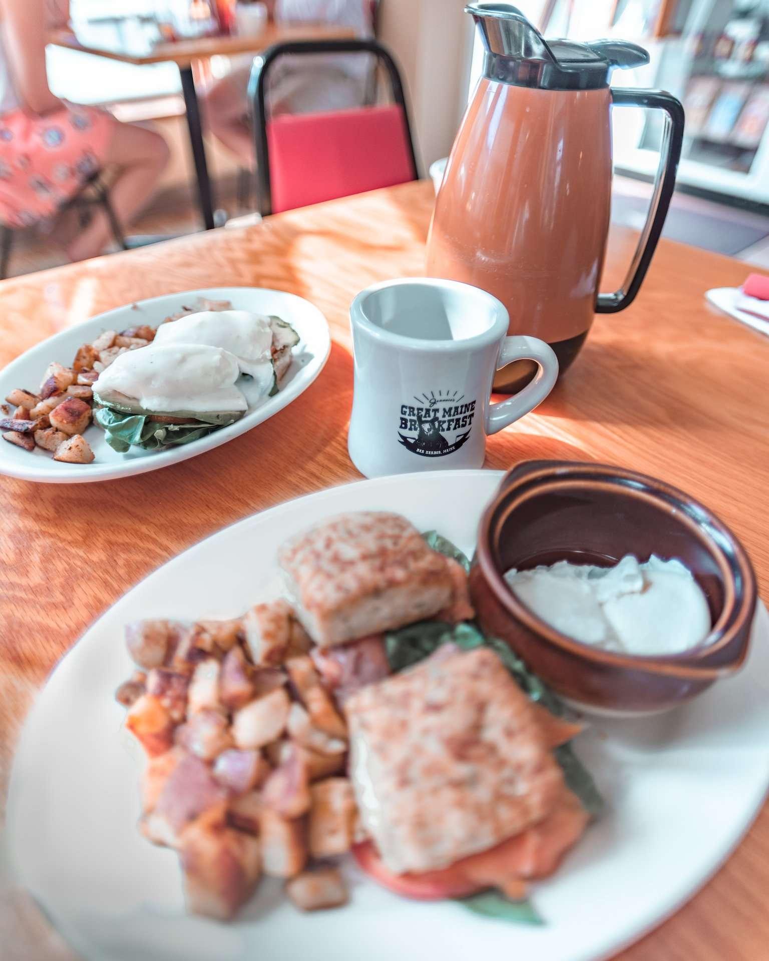 Jeannie's Great Maine Breakfast