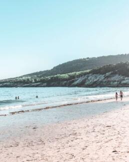 Sand Beach at Acadia National Park